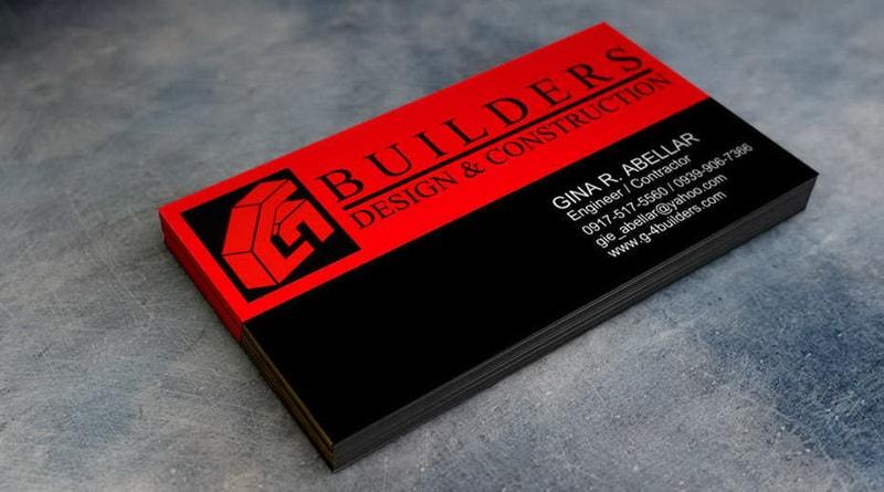 пример визитки строительной компании фото дороге делать
