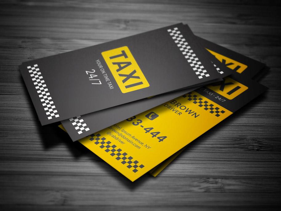 визитки такси фото