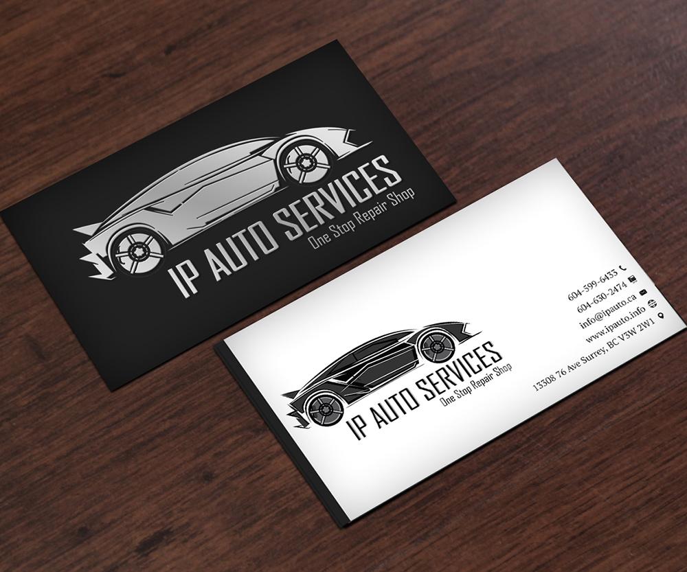 картинки на визитку ремонт авто поселком